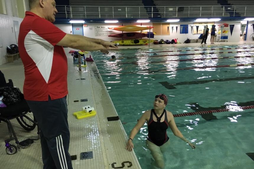 Saskatoon para-swimmer sets 3 Canadian records