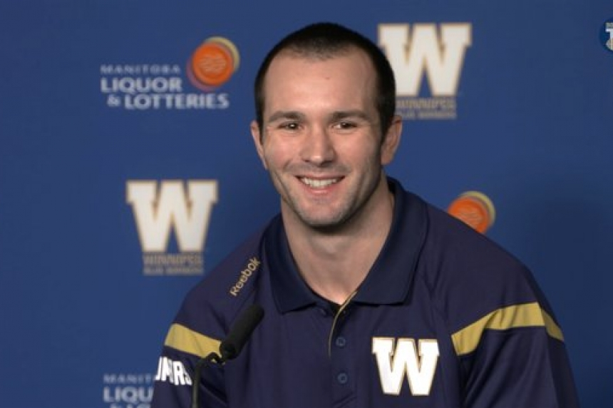 Weston Dressler looks for fresh start with Winnipeg Blue Bombers