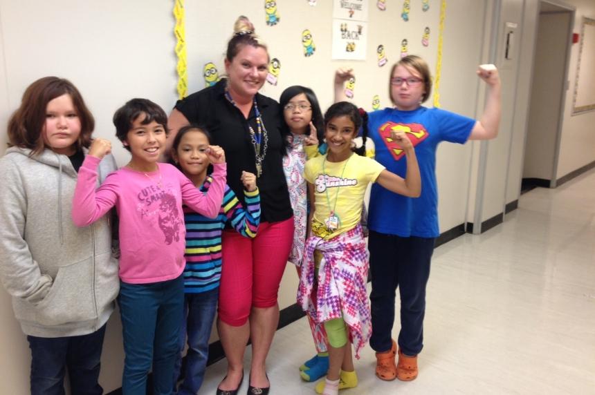 McDermid School teacher inspires as one of Canada's strongest women