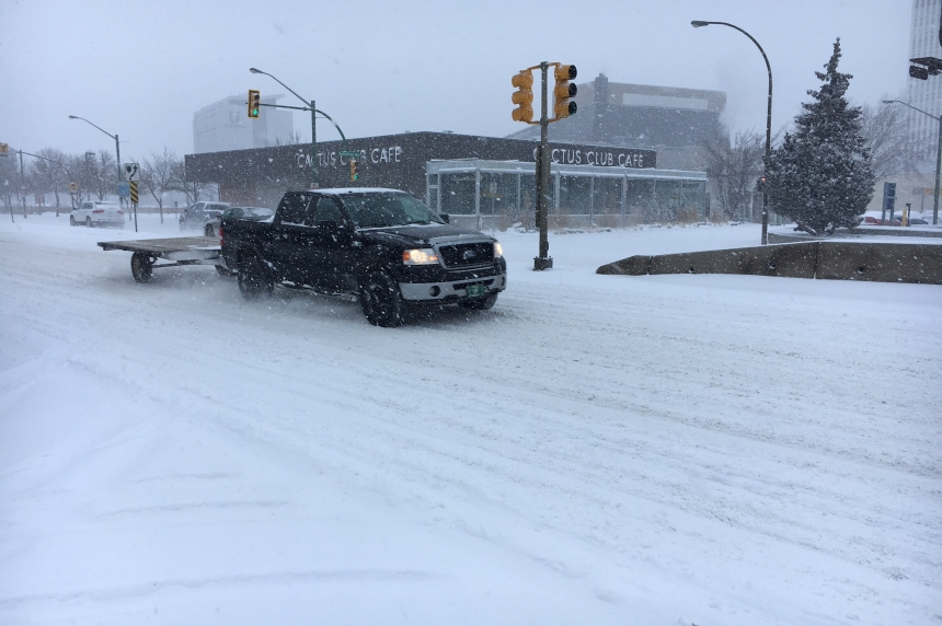From spring to winter, weekend brings wild weather