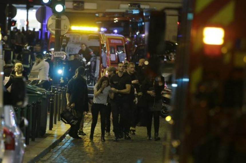 Regina woman lands in middle of Paris attacks