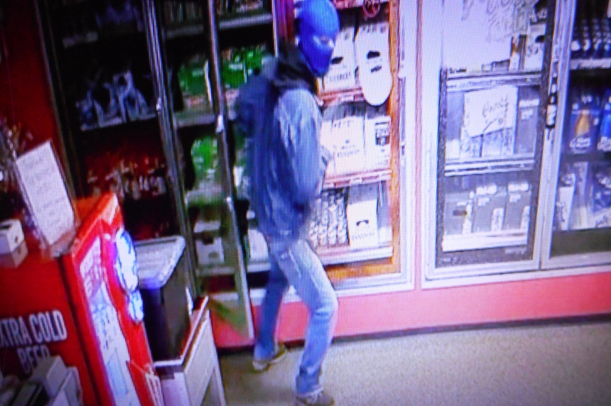 RCMP seek man in Tisdale armed robbery