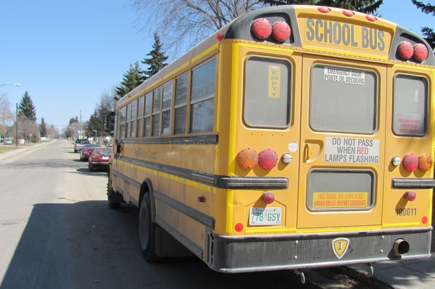 Wakaw school bus driver flees scene after collision with boy on bike