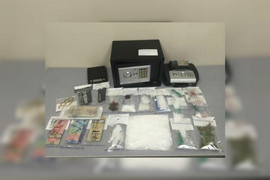 Police find 2 lbs of meth in Warman raid