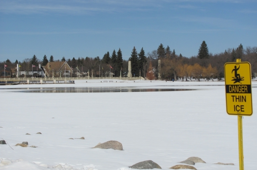 City warns of thin ice conditions in Regina