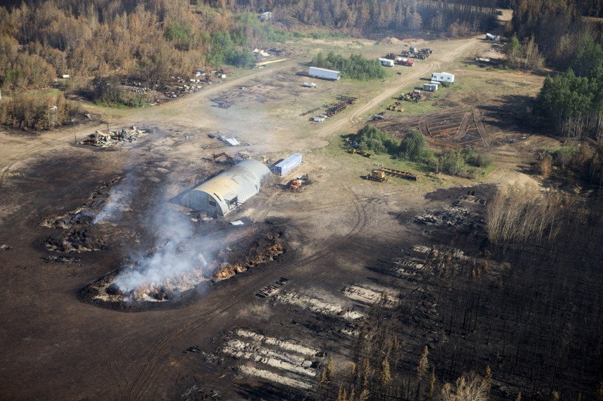 PHOTOS/VIDEO: Eye-opening fly over of Sask. fire zone