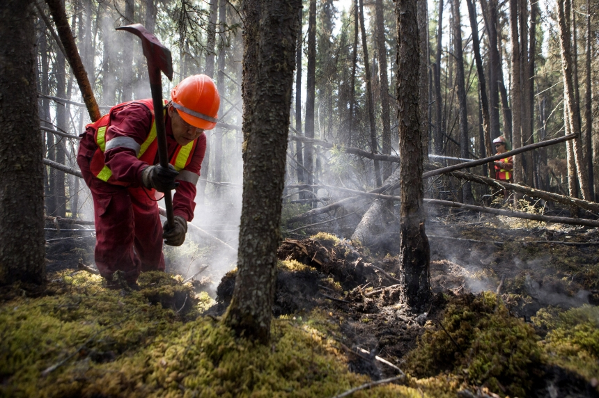 Soggy change in weather headed to northern fires