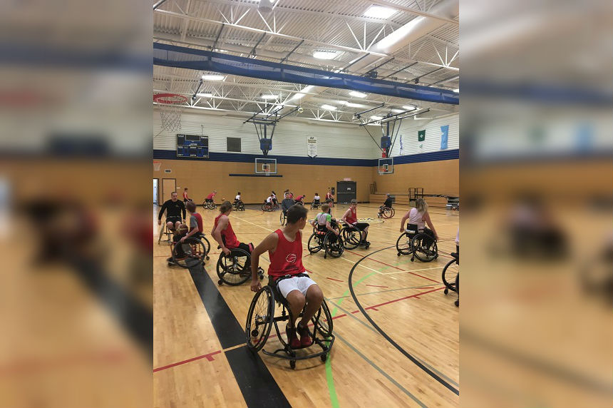 Theft of 34 child basketball wheelchairs 'heartbreaking'