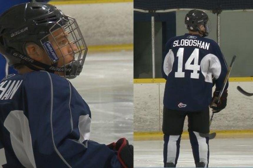 Blades name Wyatt Sloboshan team captain