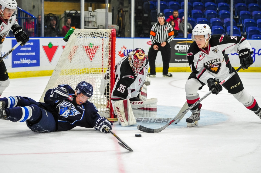 Blades drop two sudden-death decisions over the weekend