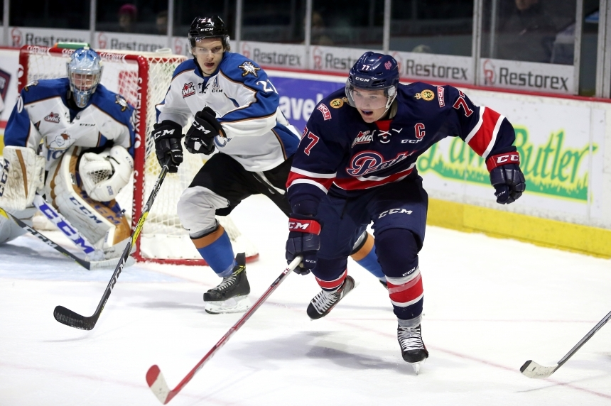 Pats halt Moose Jaw's comeback attempt and win 4-3