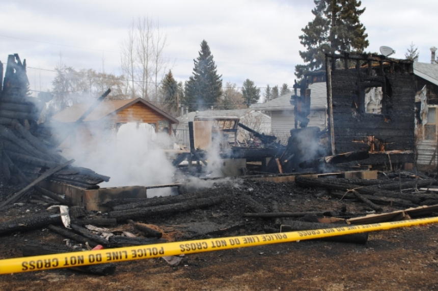 Neighbour recounts P.A. murder suspect arrest in burning house