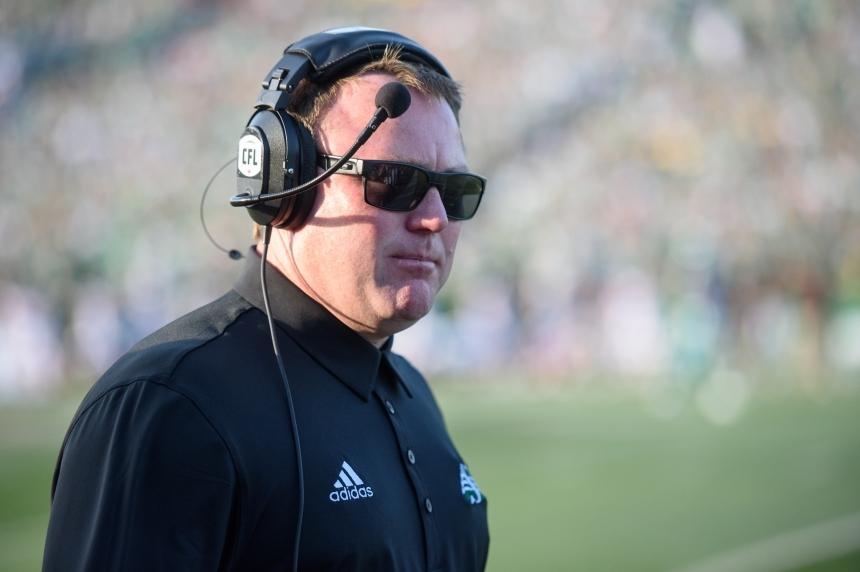 Riders head coach Chris Jones speaks after league fines team for roster violations