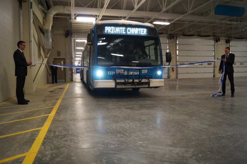 Saskatoon's new modern bus facility gearing up for move-in day