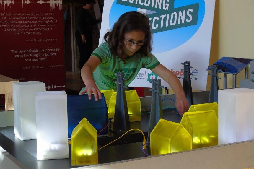 New Saskatchewan Science Centre exhibit 'Building Connections' debuts