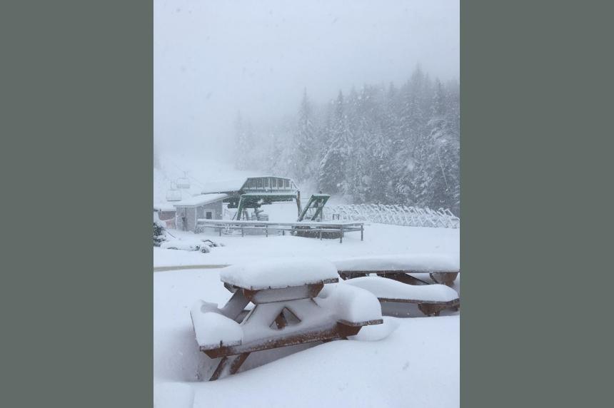 Snow warnings cover Saskatchewan