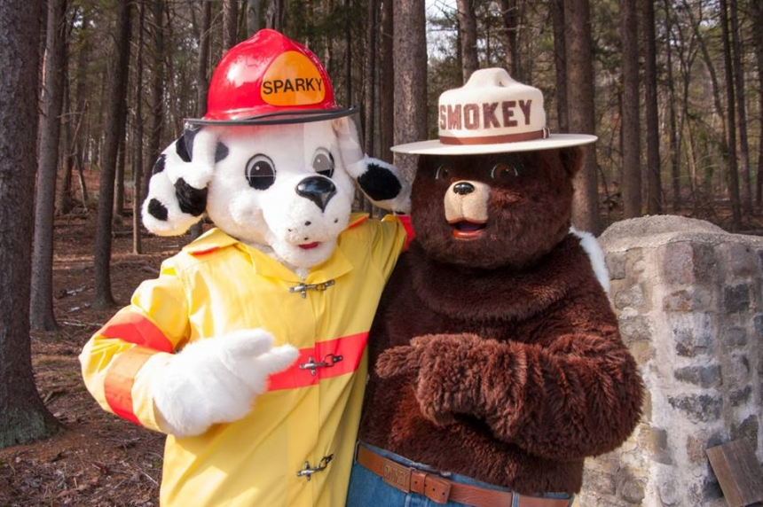 Fire safety mascot celebrates 65th birthday