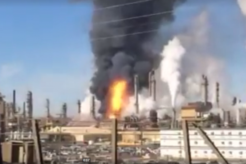 Syncrude responds to fire at  oilsands site in northern Alta.