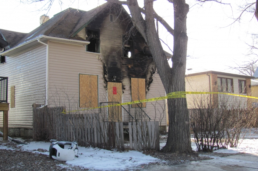 Fire damages home in Regina's Core neighbourhood