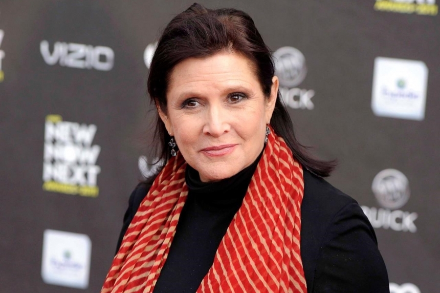 Actress and author Carrie Fisher dies at age 60
