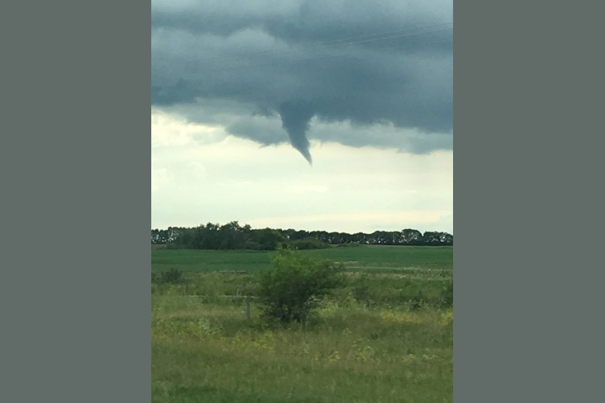 Funnel clouds spotted in Saskatoon and near the Battlefords