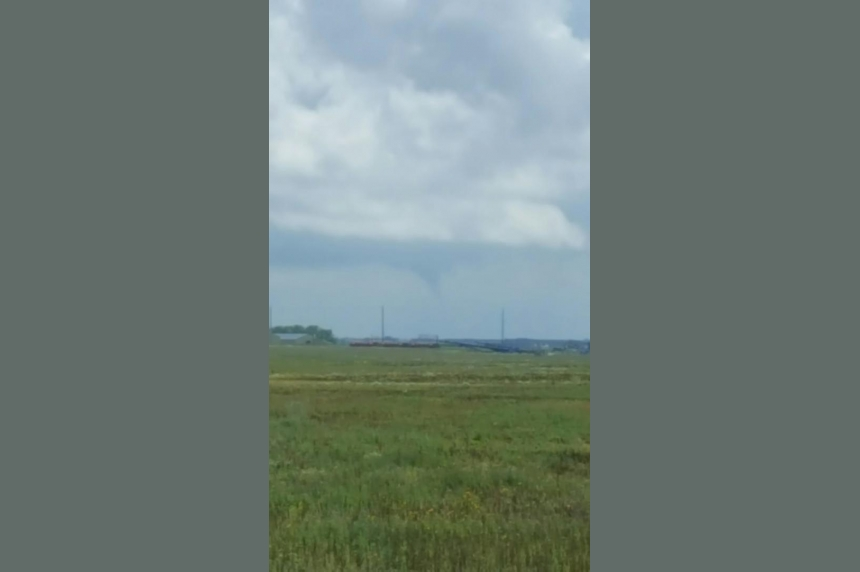 Conditions right for funnel clouds in southwest Sask.