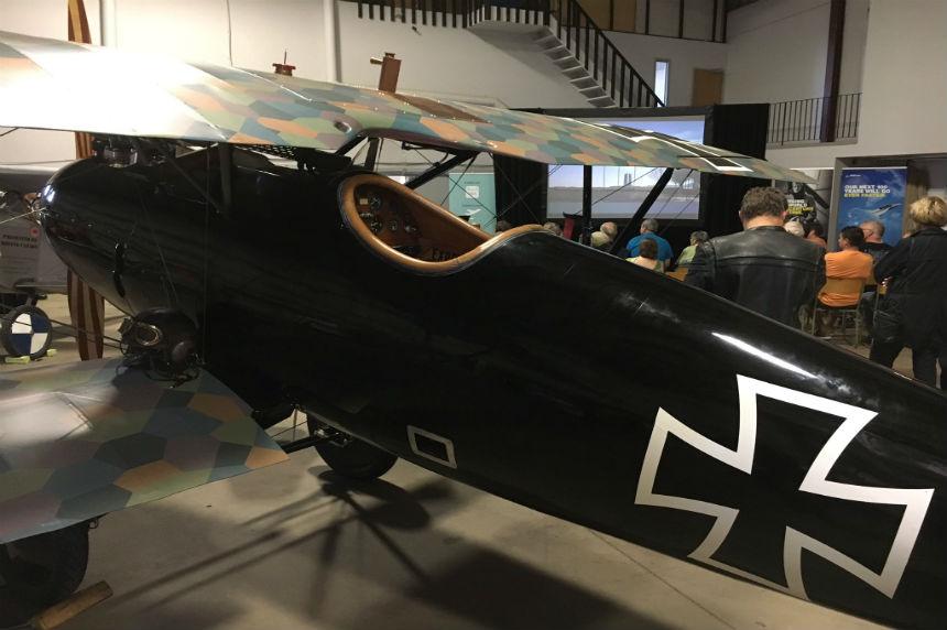 Vimy replica warplane tour flies into Saskatoon