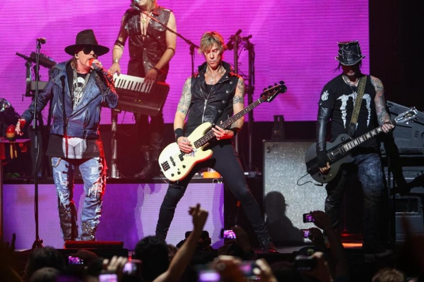 Welcome to the jungle: Guns N' Roses coming to Regina next summer