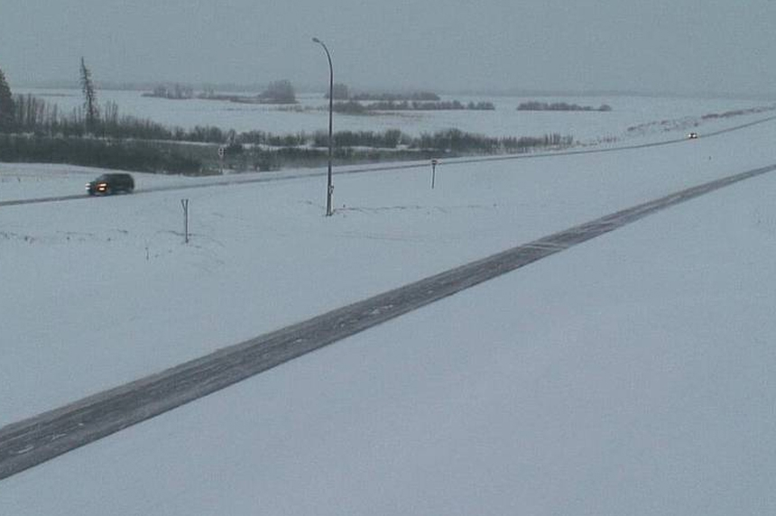 Southern Sask. highways remain slick