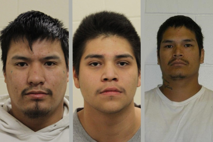 4 arrested, 3 still at large after violent break in on the Muskowekwan First Nation