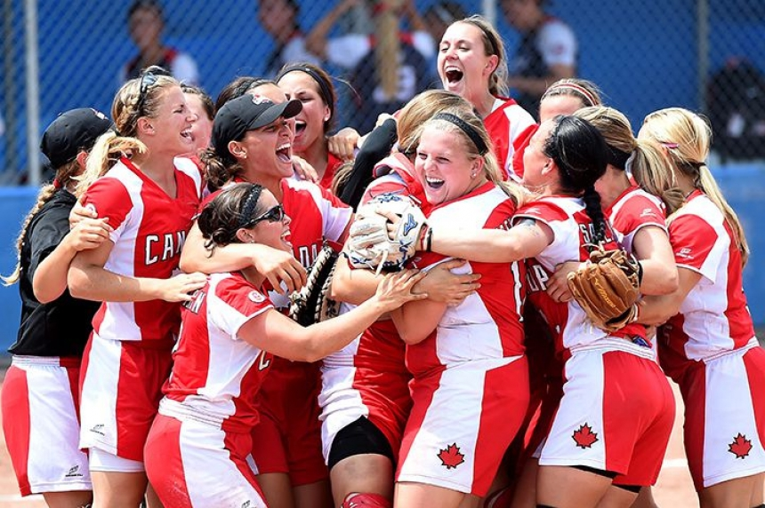 Sask. ball player glowing after winning gold at Pan-Am Games