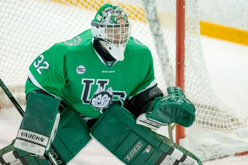 Huskies goalie Jordon Cooke named to Canadian Spengler Cup team