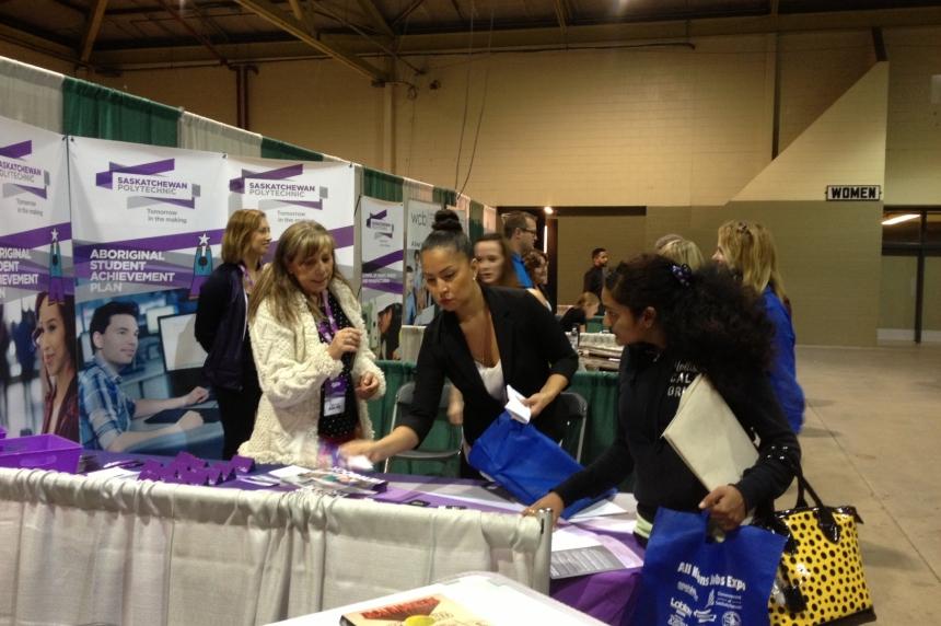 Job seekers head to All Nations Job Fair  in Regina