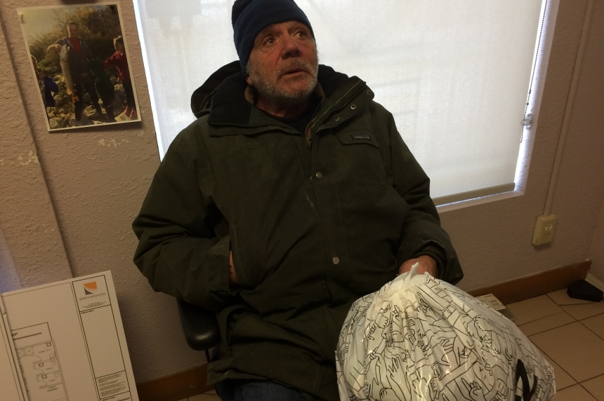'People don't have to go through this:' homeless Regina man on winter on the streets