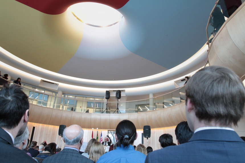 Gordon Oakes Red Bear Student Centre opens on U of S campus