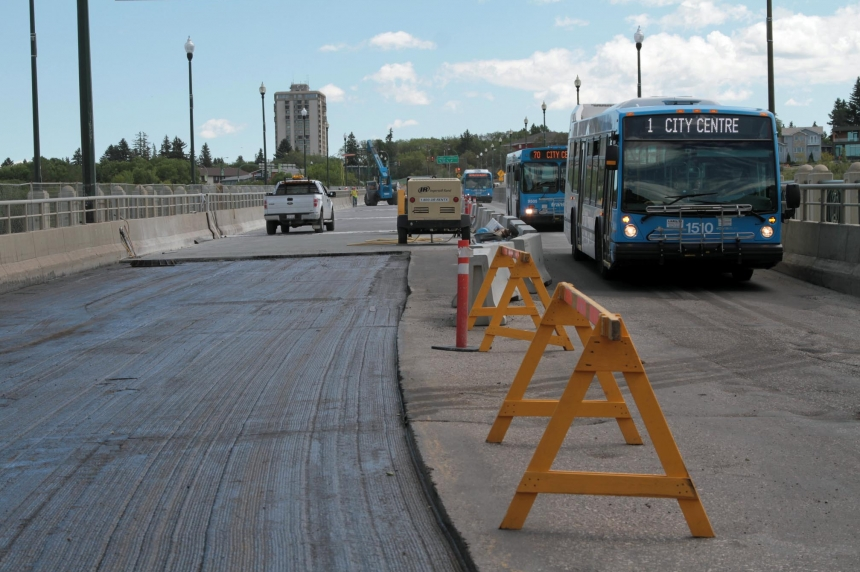 Saskatoon University Bridge could open in 1-2 weeks