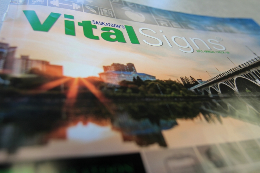 Vital Signs report gets pulse on Saskatoon stats