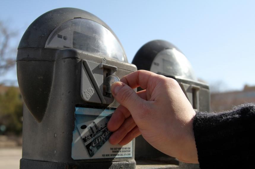City selling old parking meters