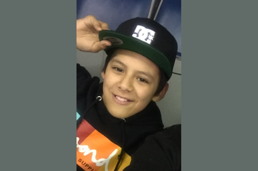 Regina police look for missing 12-year-old boy