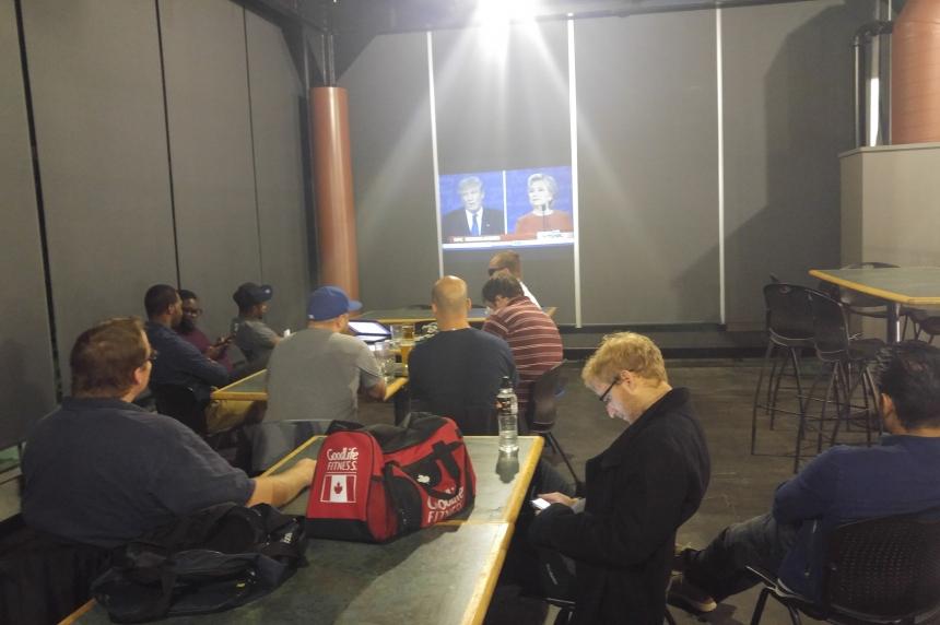 First presidential debate finds an audience in Regina