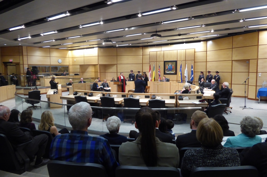 Regina city council ready to work after being sworn in