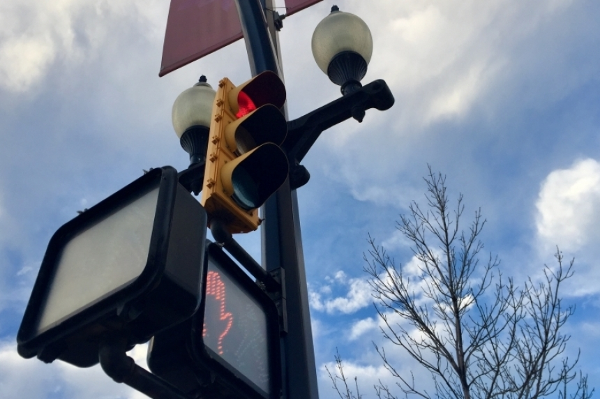 Driver involved in downtown crash fined for running red light