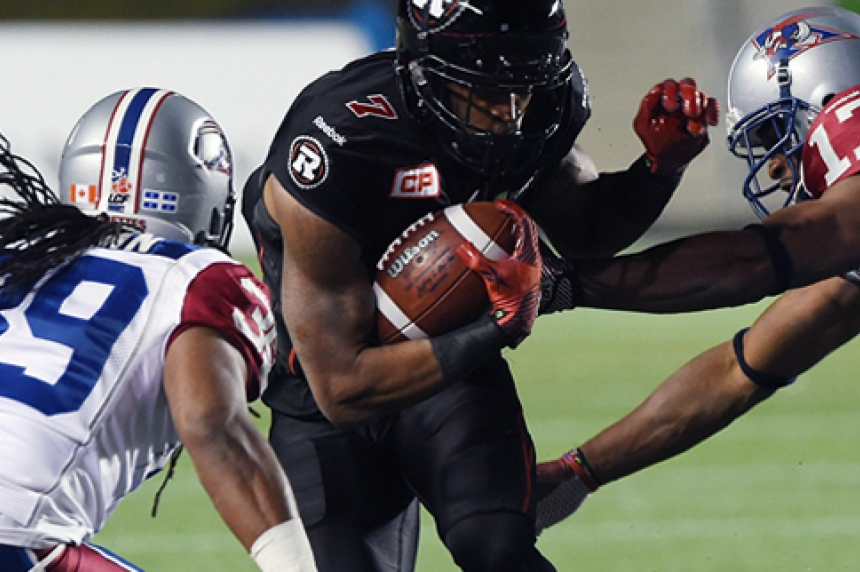 Roughriders acquire receiver Price from Ottawa