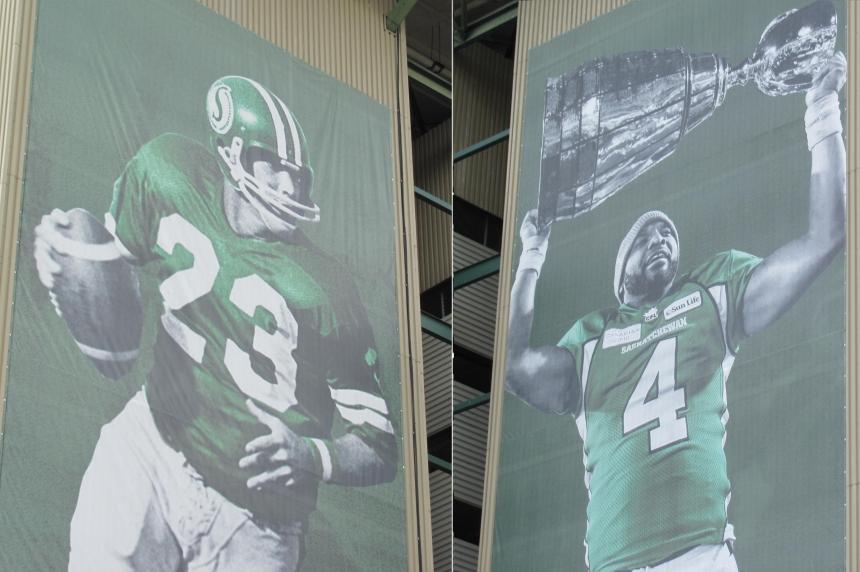 New banners put up at Mosaic Stadium