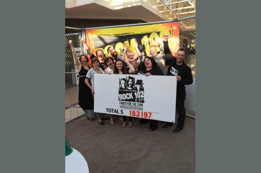 Rock 102 marathon for prostate health awareness another huge success
