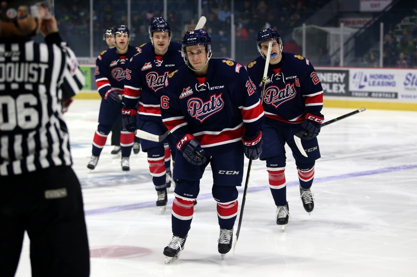 Regina Pats stretch win streak to five