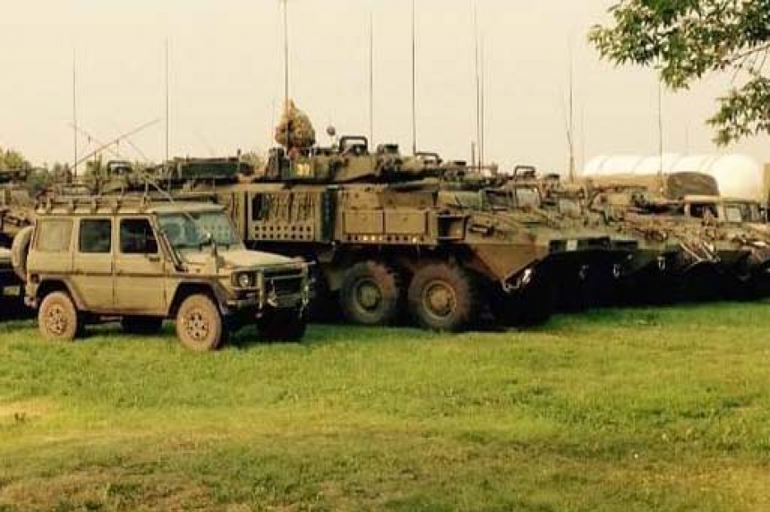 Military arrives in Prince Albert to fight Saskatchewan wildfires