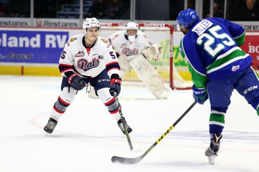 Regina Pats Captain Colby Williams out at least a month for surgery