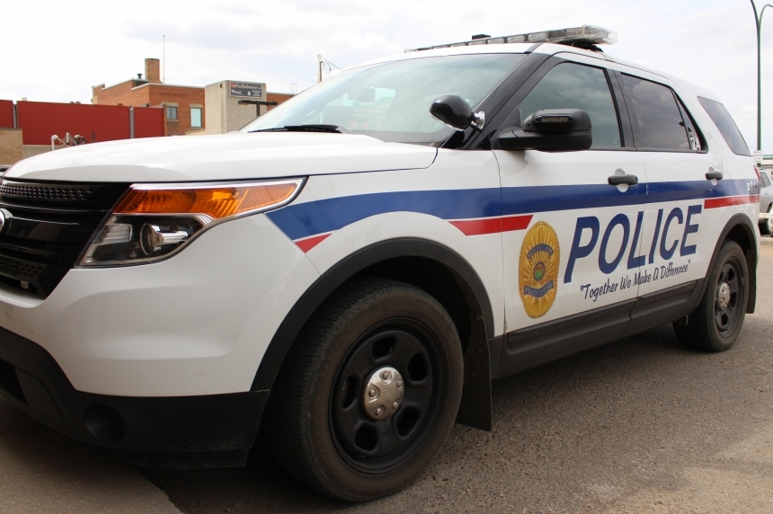 Pedestrian struck by vehicle, Tim Hortons damaged in Moose Jaw