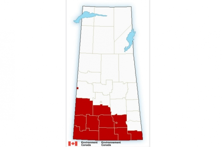 Wind warnings issued for southern Saskatchewan